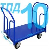 Тележка ТПД-10 (800х1800мм) колеса в ассортименте (г/п 300 - 550 кг)