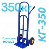 Тележка грузовая двухколесная КГ-350 (г/п - 350 кг, колеса 250мм, пневмо или литая резина на выбор)