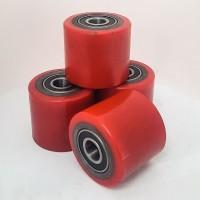 Ролик полиуретановый 80х70мм для гидравлической тележки (рохли, роклы)
