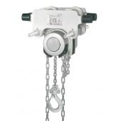 Таль ручная Yalelift ITG CR 500 (500 кг) на крантележке с цепным приводом (антикор)