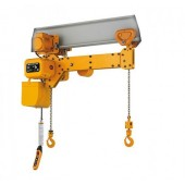 Электрические тали KITO, модель TWER2M с двойным крюком , от 2х250 кг  до 2х2,5 тонн
