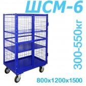 Шкаф каркасный металлический ШСМ 6 сетчатый (800x1200x1500)