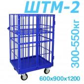 Шкаф каркасный металлический ШТМ 2 (600x900x1200)