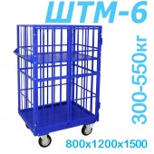Шкаф каркасный металлический ШТМ 6 (800x1200x1500)