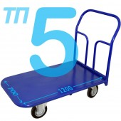 Тележка платформенная ТП-5 (700х1200мм), колёса на выбор