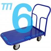 Тележка платформенная ТП-6 (800х1200мм), колёса на выбор