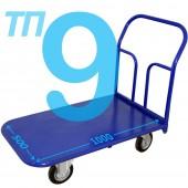 Тележка платформенная ТП-9 (500х1000мм), колёса на выбор