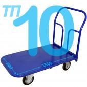 Тележка платформенная ТП-10 (800х1800мм), колёса на выбор