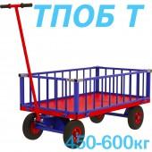 Тележка платформенная с поворотной осью ТПОБ 2Т, ТПОБ 5Т и ТПО 7Т