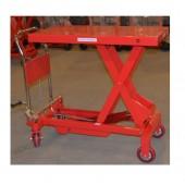 Гидравлический подъемный столик OXF-100 (WP-1000), г/п 1000 кг, 400-1000 мм